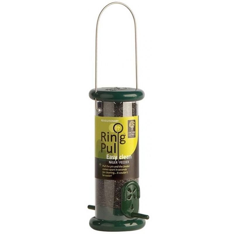 Ring-Pull™ Pro Nyger Feeder - Green - Nyger Feeders - Feeders & Accessories