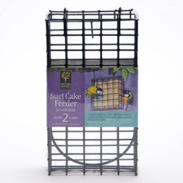 Double Suet Block and Cake Feeder