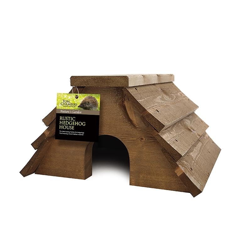 Rustic Hedgehog House