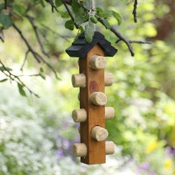 Tom Chambers Wooden Suet Log Feeder