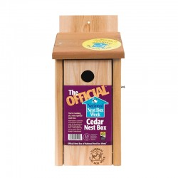 The Official™ Cedar Nest Box - 32mm Hole