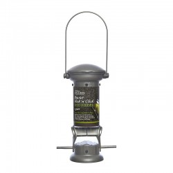 Tom Chambers Pewter Flick 'n' Click Seed Feeder