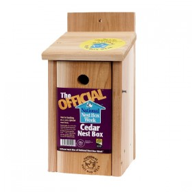 The Official™ Cedar Nest Box - 26mm Hole