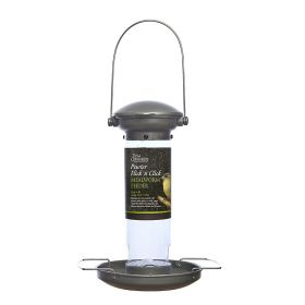 Tom Chambers Pewter Flick n Click Mealworm Feeder