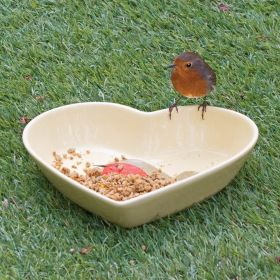 I Love Robins® Ground Feeding & Water Dish