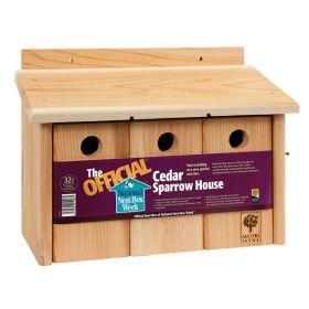 The Official™ Cedar Sparrow House