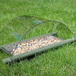 Ground Bird Seed Feeder